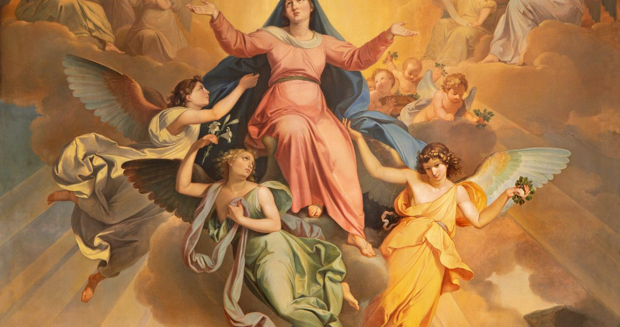 Assumption of the Virgin Mary celebrated this Saturday