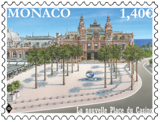 Monaco stamps feature the old and the new