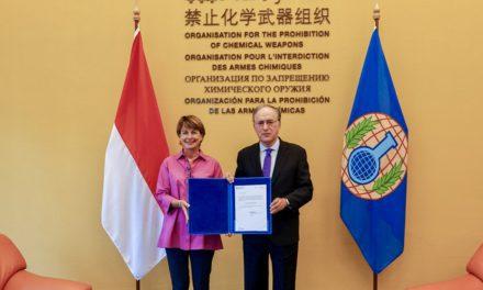 Monaco Diplomat presents credentials