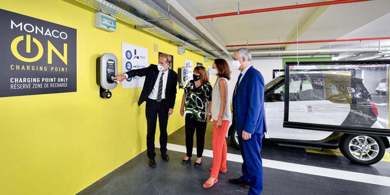 'MONACO ON' facilitates charging in Principality