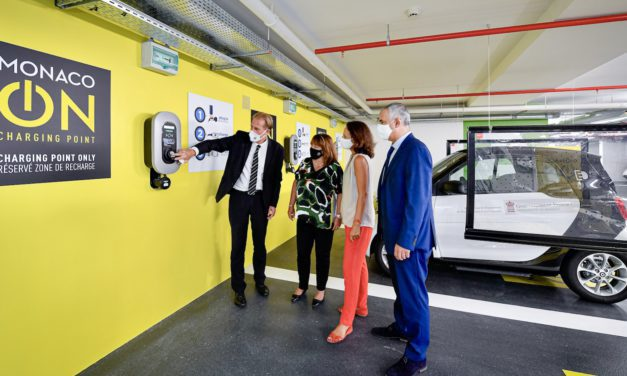 'MONACO ON' facilitates charging in Principality