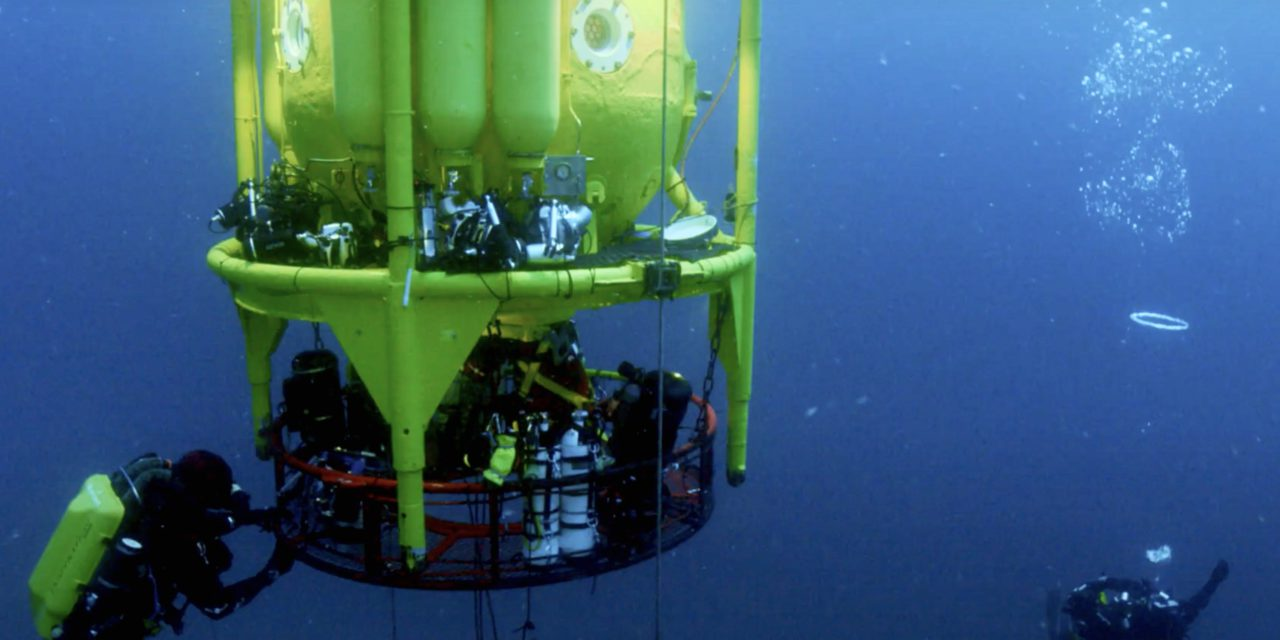 Underwater documentary uncovers unknown depths of the Mediterranean Sea