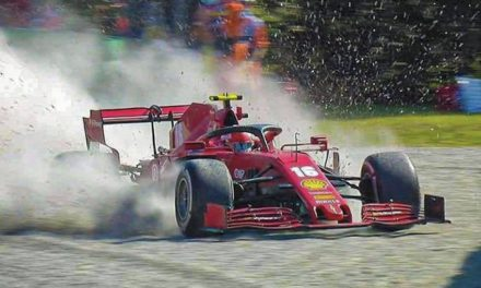 Monza GP takes dramatic turn as Leclerc walks away from serious crash