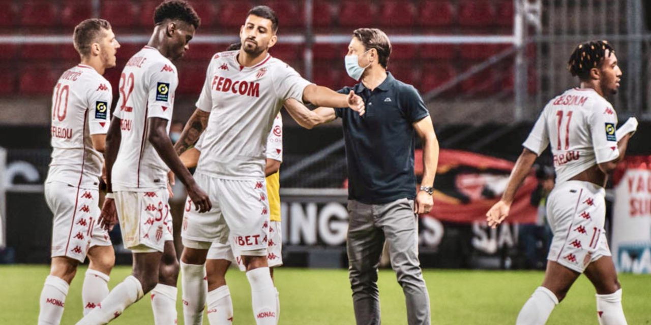AS Monaco record first loss of season at Roazhon Park