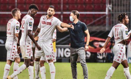 AS Monaco record first loss of season at Roazhon Park
