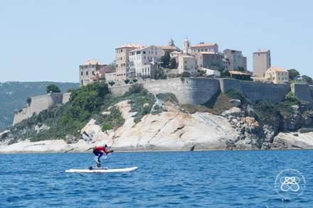 YPI leads support for Princess Charlene Foundation's Calvi to Monaco Water Bike Challenge