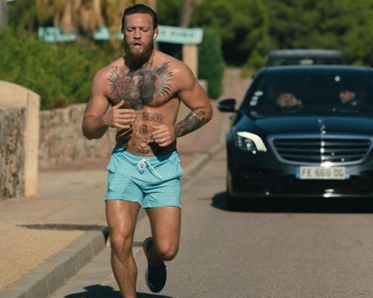 Notorious McGregor misses water bike challenge after arrest