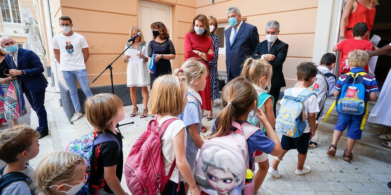 Children happy to go back to school