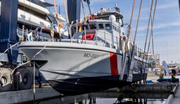 Monegasque Maritime Police receive new Fast Patrol Vessel