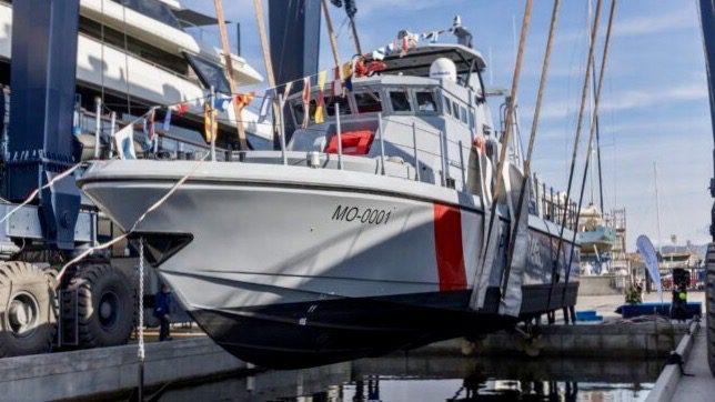 Monegasque Maritime Police receive new Fast Patrol Vessel