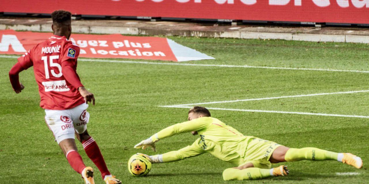 AS Monaco fall short against Stade Brestois