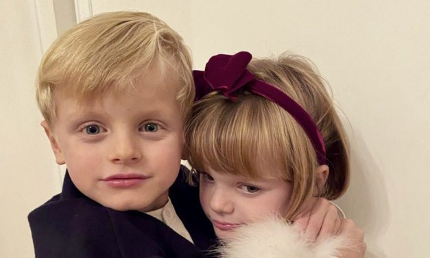 Princess Charlene takes to social media with photo of twins