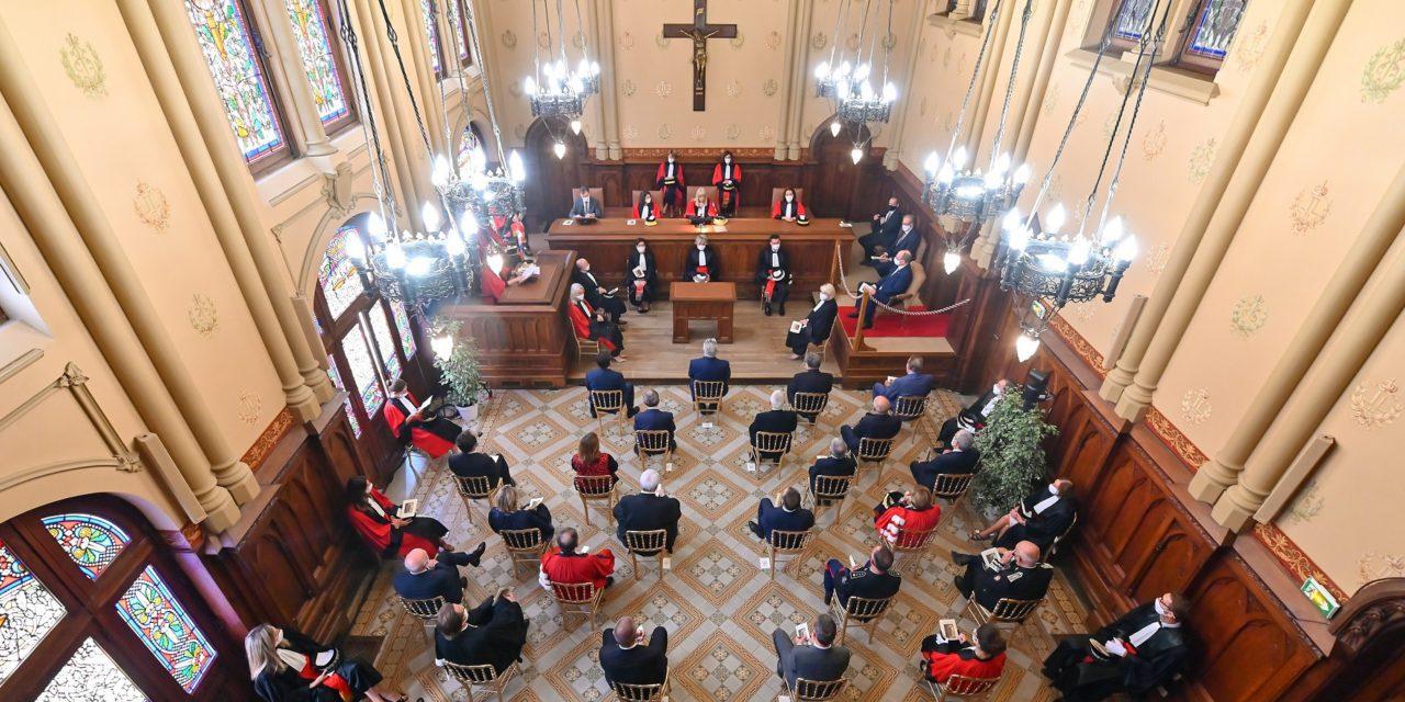 Ceremonies mark start of judicial year
