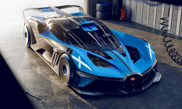 Meet the 'Bolide', the most bonkers Bugatti yet