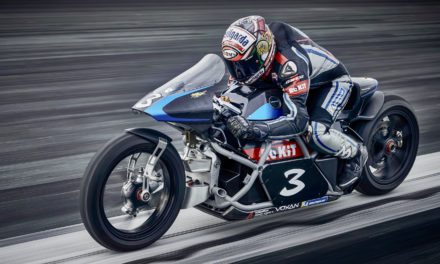 Monegasque electric motorcycle smashes world speed record
