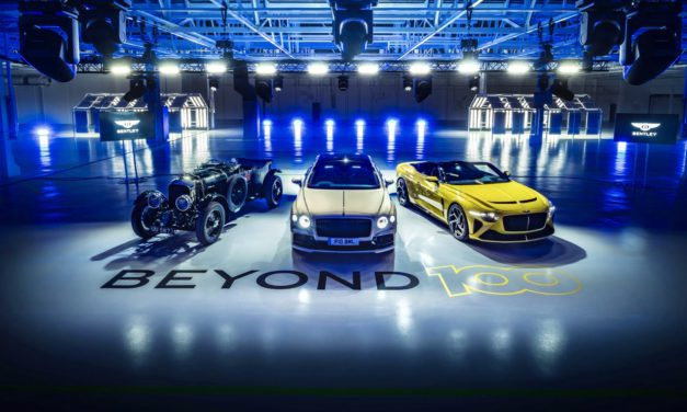 'Beyond100' Bentley to become solely electric by 2030