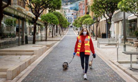 Nick Danziger documents coronavirus in Monaco