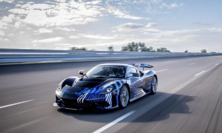 On track: Battista hypercar completes high speed test programme