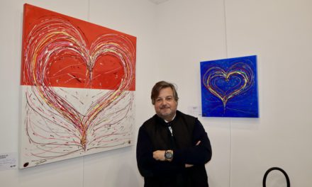 'All we need is love' exhibition opens with roaring success