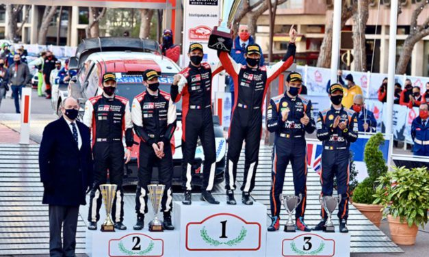 Ogier Shatters Rallye Monte-Carlo wins record