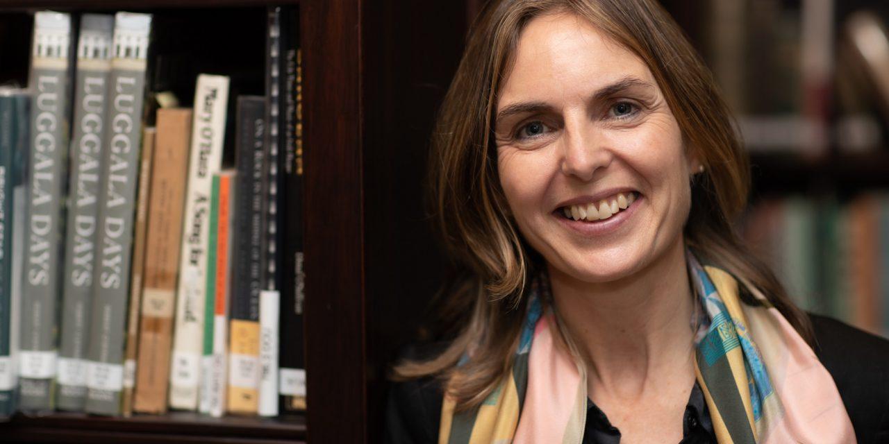 Paula takes over at Princess Grace Irish Library