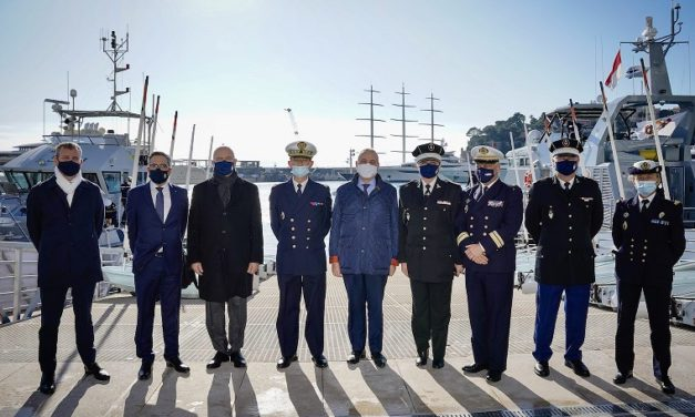 Monegasque authorities welcome senior French Maritime officials