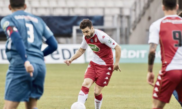 Monaco defeat Grenoble in early stages of French Cup