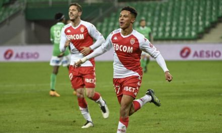 Monaco show no mercy against Saint-Etienne