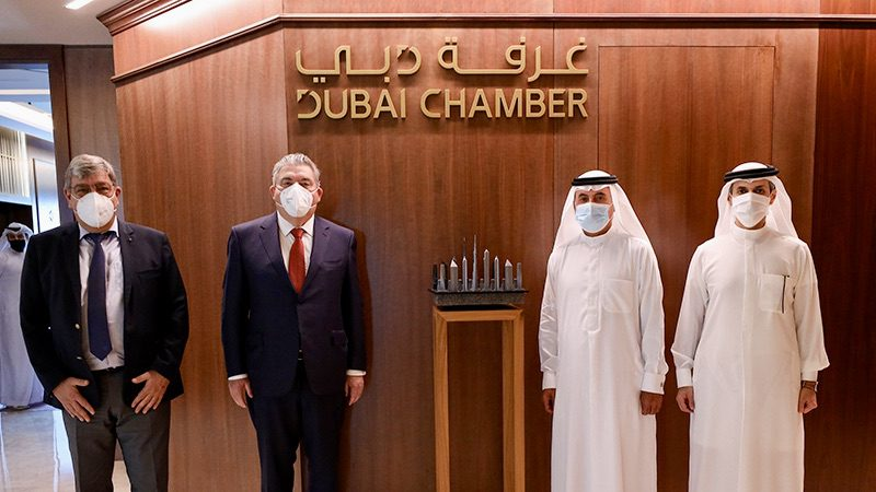 Dartout discusses investment opportunities with Dubai Chamber of Commerce