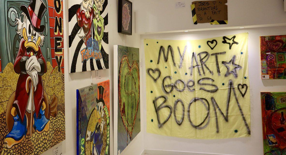 MY ART GOES BOOM exhibition displays explosive local artistry