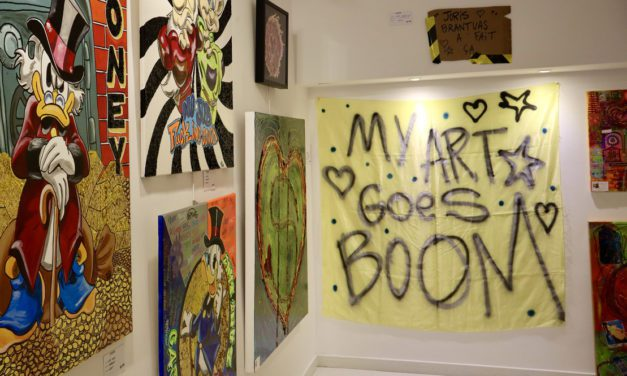 MY ART GOES BOOM exhibition displays explosive local artistry