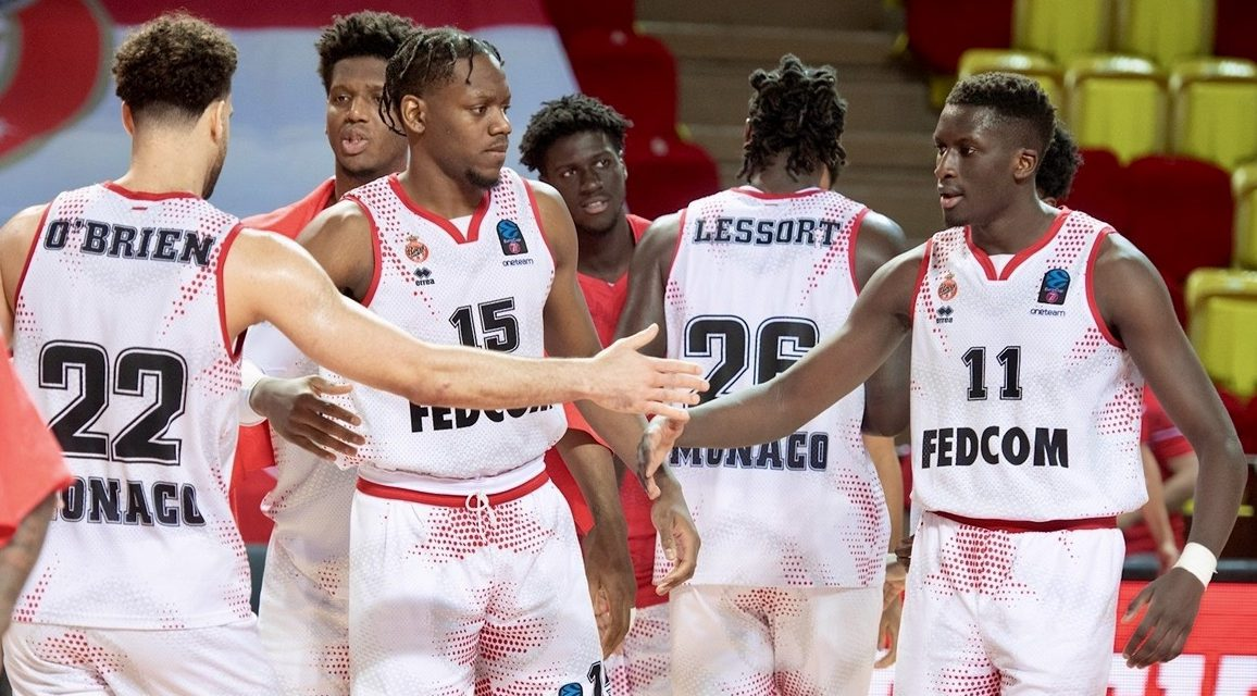 Monaco emerge victorious in first leg of EuroCup Finals