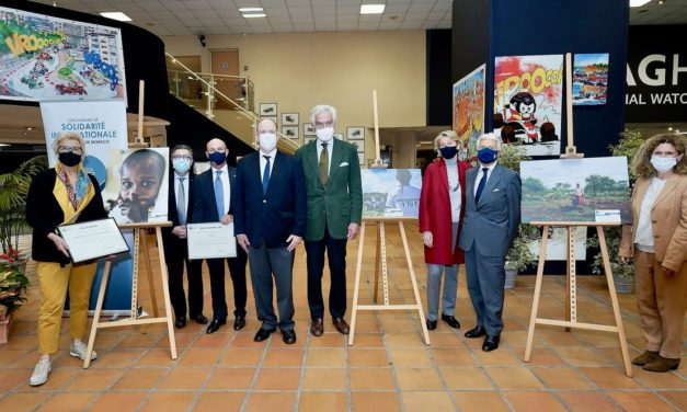 Prince Albert attends first ever Monegasque ISO photography competition award ceremony
