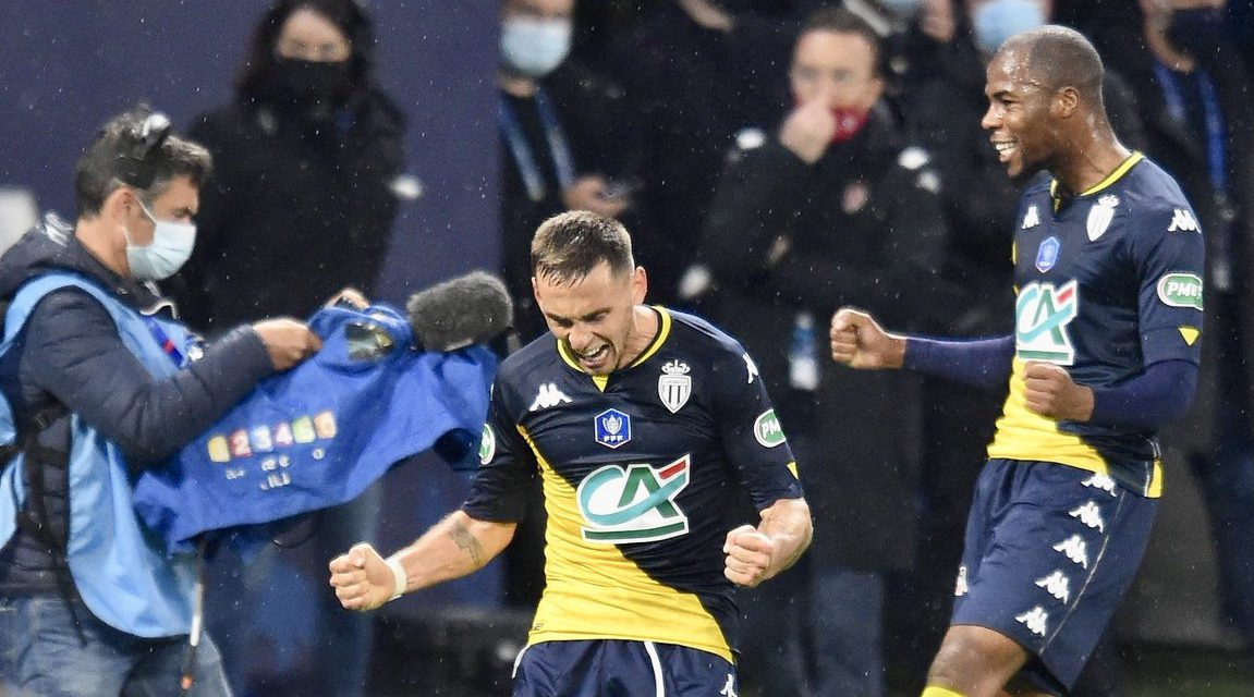 Monaco punish Lyon in French Cup quarter final victory