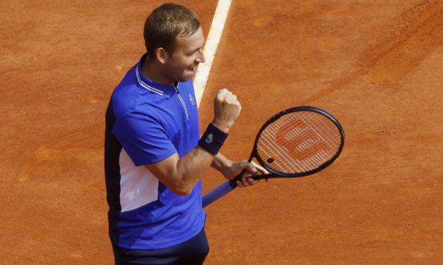 Evans stuns world No.1 Djokovic in Monte-Carlo