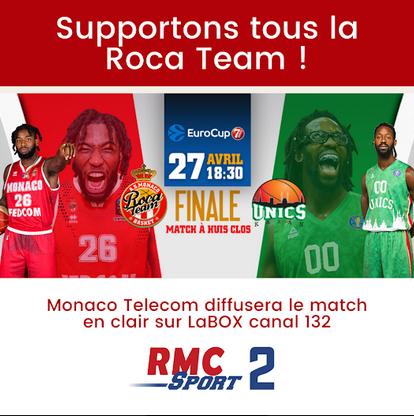 Monaco Telecom offers free access to Roca Team bid