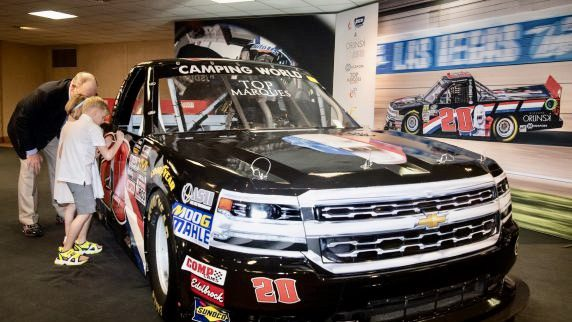 Top Marques unveil only French NASCAR in world premiere