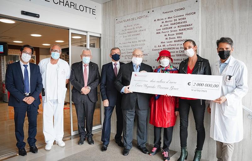 Benefactors donate two million euros to CHPG