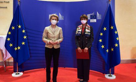 Presentation of credentials to Mrs Ursula von der Leyen