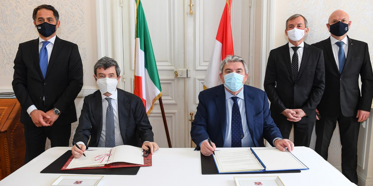Monaco and Italy sign teleworking agreement