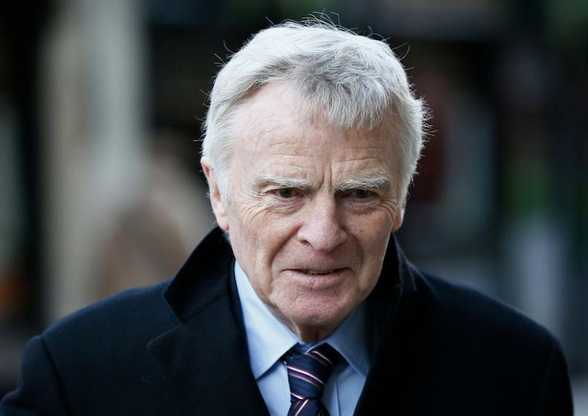 F1 legend Max Mosley dead at 81