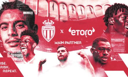 eToro expands partnership with AS Monaco, becoming main shirt sponsor