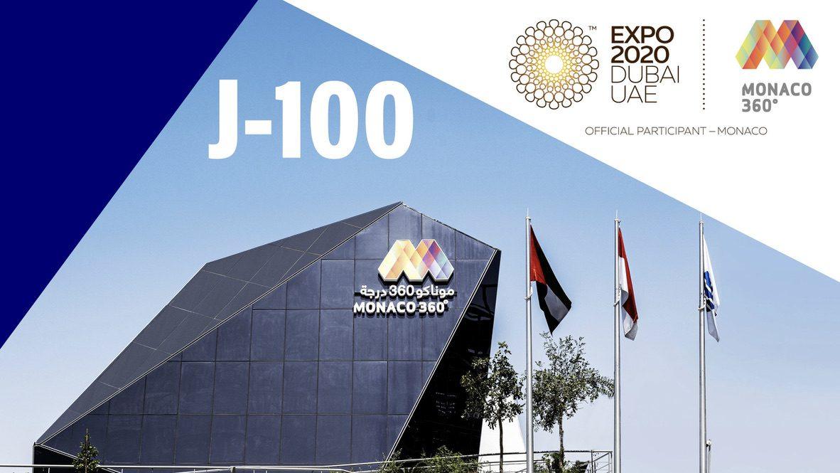 100 days to go until Monaco Pavilion opens at EXPO 2020 DUBAI