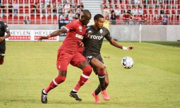 AS Monaco hold Antwerp FC to draw in pre-season friendly
