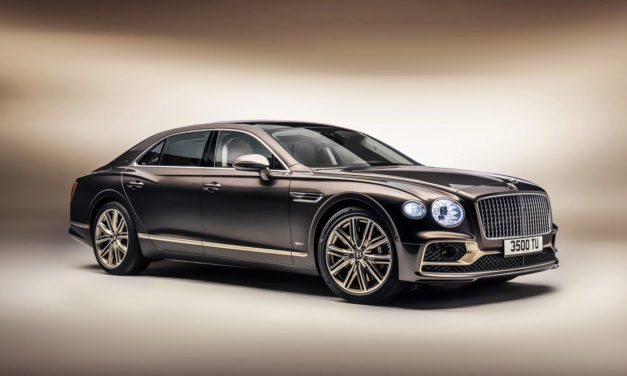 Bentley looks to luxurious future with hybrid Flying Spur Odyssean