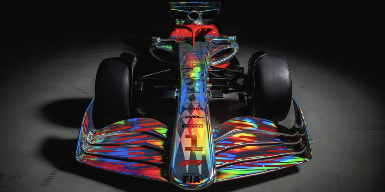 A sight to behold: Formula 1 unveils 2022 car for first time