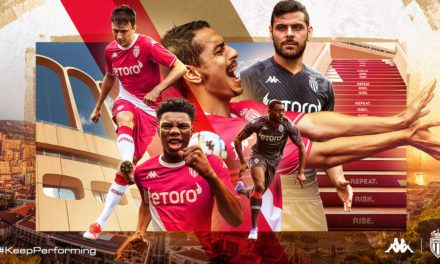 AS Monaco unveil new home and away kits for upcoming season