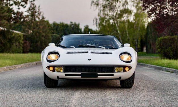 Lamborghini Miura steals the show at Artcurial auction