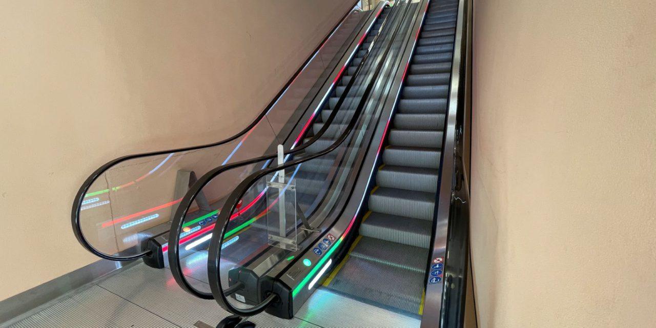 Major work starts on lifts and escalators