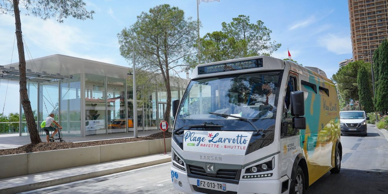 Free shuttle to serve the beach